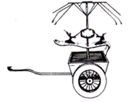 指南车是一种双轮独辕车